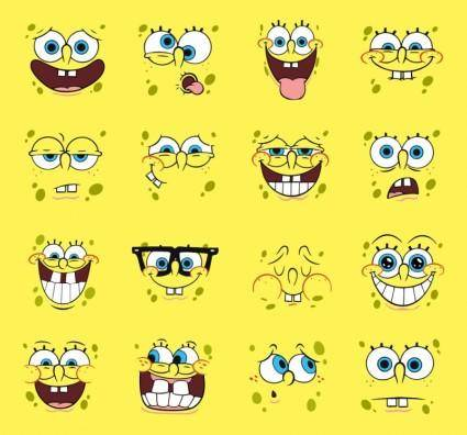 free vector Spongebob Vector Cartoons