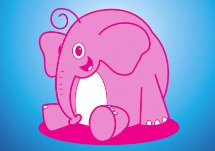 free vector Elephant Vector Cartoon