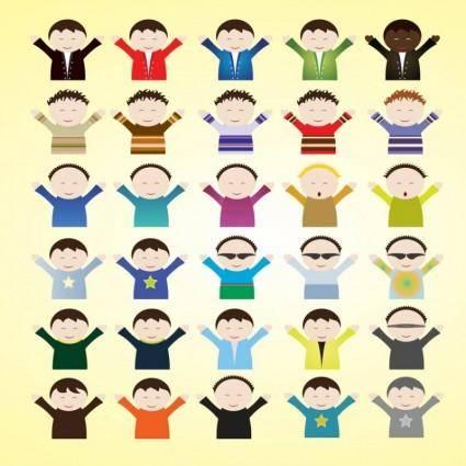 free vector Kids Cartoon Vectors