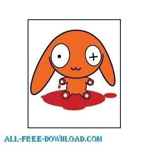 free vector Bloody2
