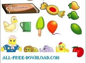 Cartoons Free Vector Pack