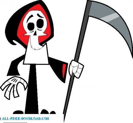 free vector Grim adventures of Billy and Mandy 011