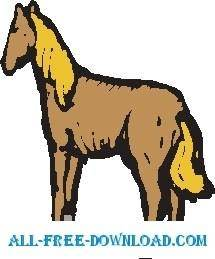 free vector Horse 29