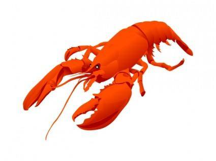 free vector Lobster vector