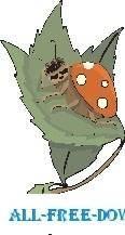 free vector Ladybug Sleeping