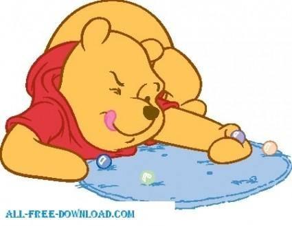 free vector Winnie the Pooh Pooh 024