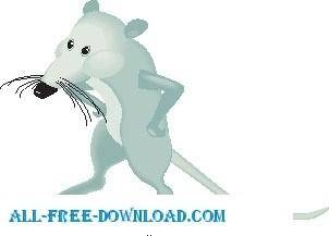 free vector Rat Angry 2