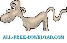 free vector Monkey 09