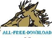 free vector Horse 02