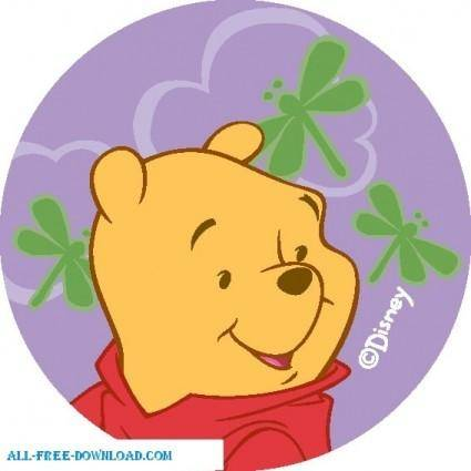 free vector Winnie the Pooh Pooh 020
