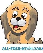 free vector Puppy Happy
