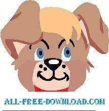 free vector Puppy Smiling