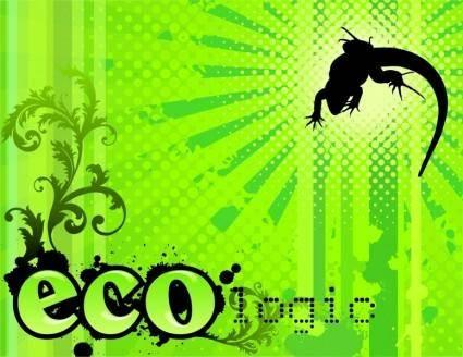 free vector Eco-logic