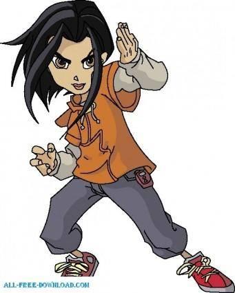 free vector Jackie Chan Adventures 006
