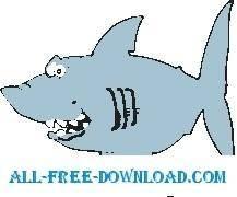 free vector Shark 24