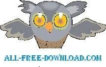 free vector Owl 18