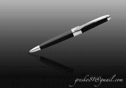 free vector Black pen