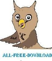 free vector Owl 12