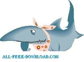 free vector Shark Hungry