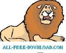 free vector Lion 20