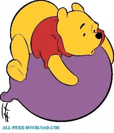free vector Winnie the Pooh Pooh 066