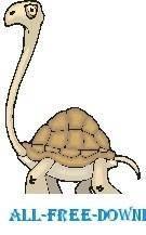 free vector Tortoise Long Neck