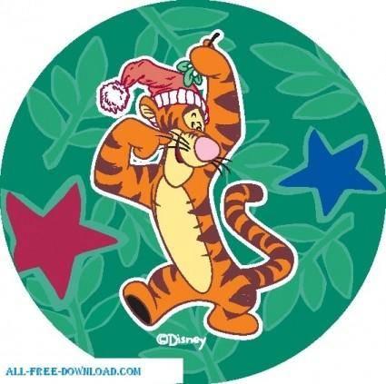 free vector Winnie the Pooh Tigg 025