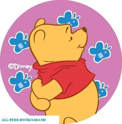 free vector Winnie the Pooh Pooh 011