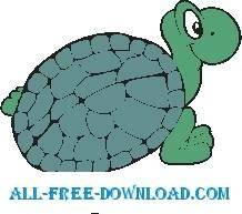 free vector Turtle 17