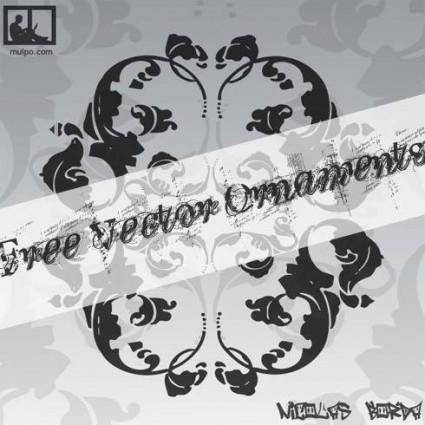 free vector Free Vector Ornaments