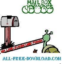 free vector Mailbox Olympics