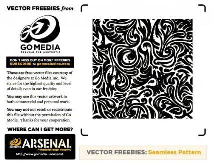 Seamless Swirls Vector Freebies