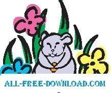 free vector Gopher 4