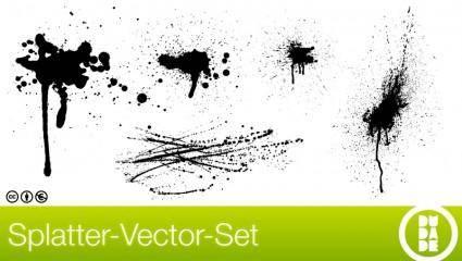 free vector Free Splatter-Vector-Set