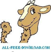 free vector Goat with Goatee