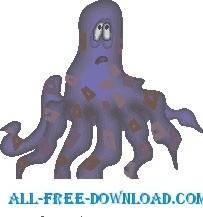 Octopus Sad