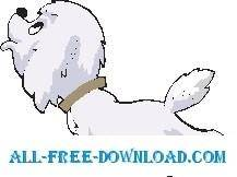 free vector Puppy Looking Up 2