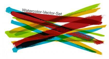 free vector Free Watercolor-Vector-Set
