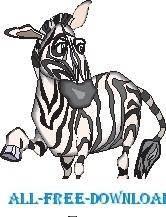 free vector Zebra 09