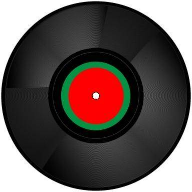 free vector Free vinyl record