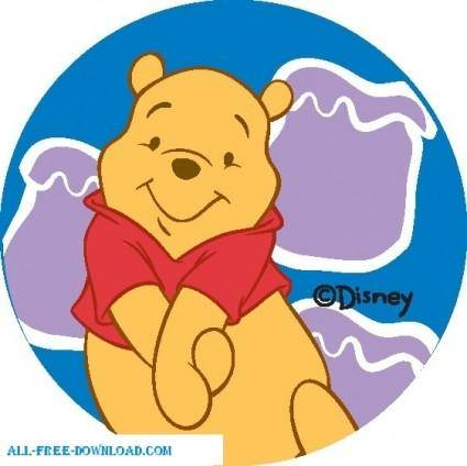 free vector Winnie the Pooh Pooh 010
