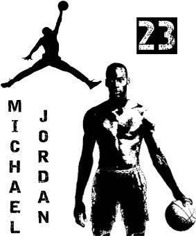 free vector Michael_Jordan