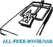 free vector Mouse Trap
