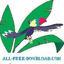 free vector Toucan 4