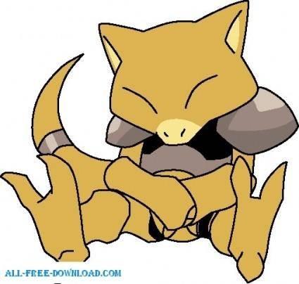 free vector Pokemon 063