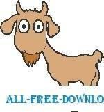 free vector Goat 1