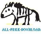 free vector Zebra 04