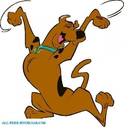 free vector Scooby Doo 01