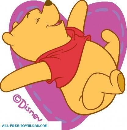 free vector Winnie the Pooh Pooh 047
