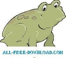 free vector Frog 20
